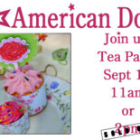 American Doll Tea Party