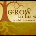 Grow in His Word