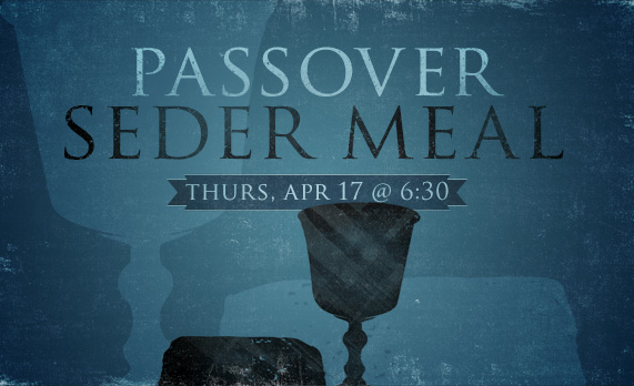 Maundy Thursday Seder Meal 2014